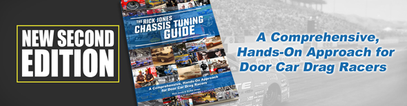 New Second Edition - The Rick Jones Chassis Tuning Guide